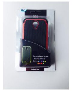 Ecat ECCLTIP603R Samsung Galaxy S4 Case Black/Red