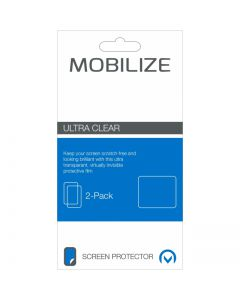 Mobilize Clear 2-pack Screen Protector Motorola Moto E6s (2020)