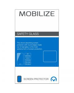Mobilize Glass Screen Protector - Black Frame - Samsung Galaxy M21